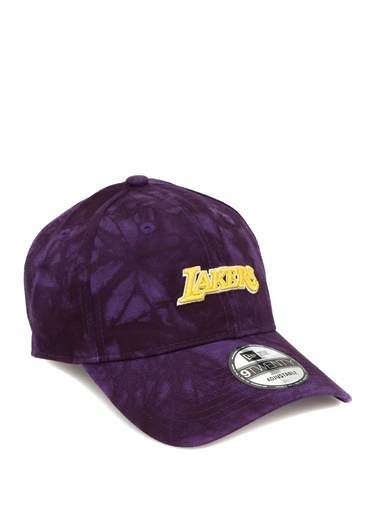 New Era New Era Los Angeles Lakers  Batik Desenli Erkek Şapka 101583768 Mor